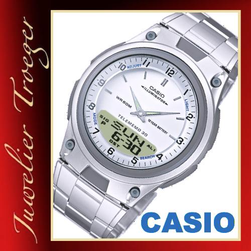 Casio Uhr Stellen