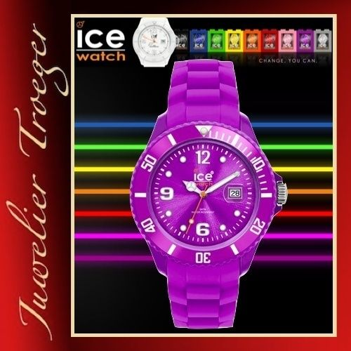 Ice Watch Sili Purple Big Herren Uhr Modell SI.PE.B.S.09