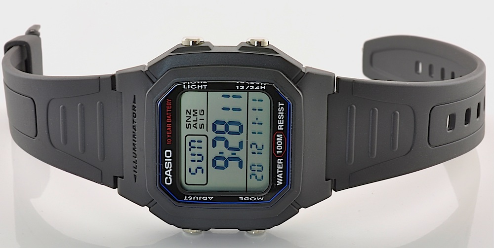 casio uhr digitale herren armbanduhr w 800h 1aves. Black Bedroom Furniture Sets. Home Design Ideas