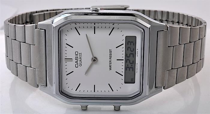 casio uhr analog digital herren armbanduhr aq 230a 7dmqyes. Black Bedroom Furniture Sets. Home Design Ideas