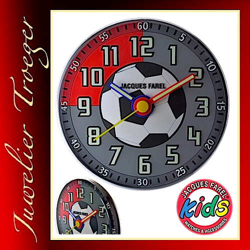 "Jacques Farel ""Clocks"" Uhr Kinder Wanduhr WAL10"