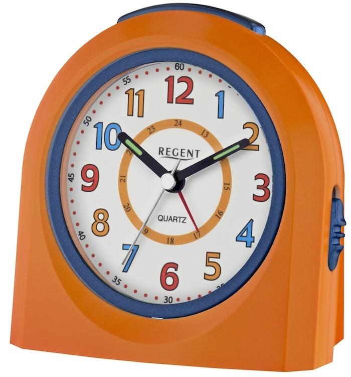 regent wecker kinderwecker modell 40 921 9 orange. Black Bedroom Furniture Sets. Home Design Ideas