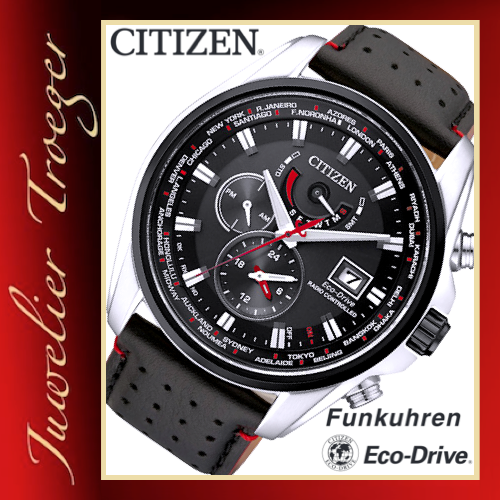 citizen eco drive funk solar herren uhr modell at9036 08e. Black Bedroom Furniture Sets. Home Design Ideas