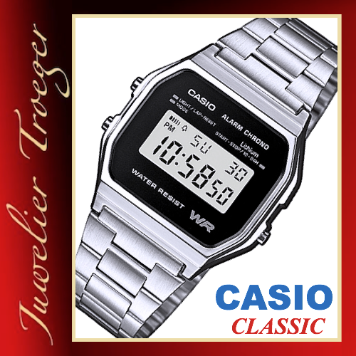 Casio Uhr Digitale Armbanduhr Classic Collection  Modell A158WEA-1EF