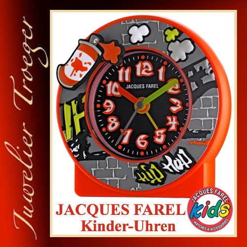 Jacques Farel Kids Wecker Kinderwecker Modell ACT333