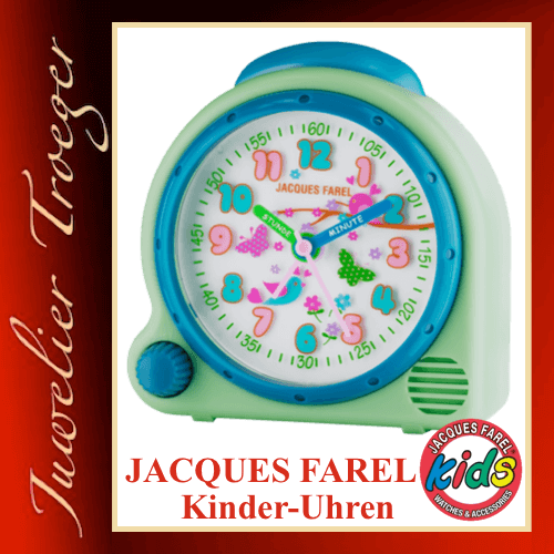 Jacques Farel Kids Wecker Kinderwecker Modell Wald AVC16 FOREST-G mit Weck-Sound