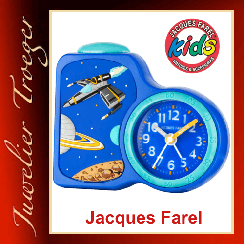 Jacques Farel Kids Wecker Kinderwecker Lernwecker Modell ACB08 SPA-G