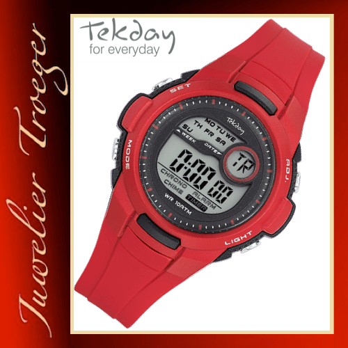 Tekday Uhr Digitale Kinderuhr Jugenduhr Modell 653965 Young-Collection