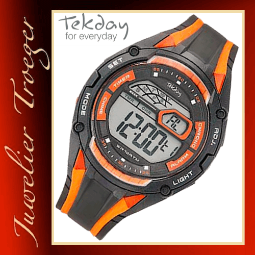 Tekday Uhr Digitale Herren Jugenduhr Modell 655919 Young-Collection