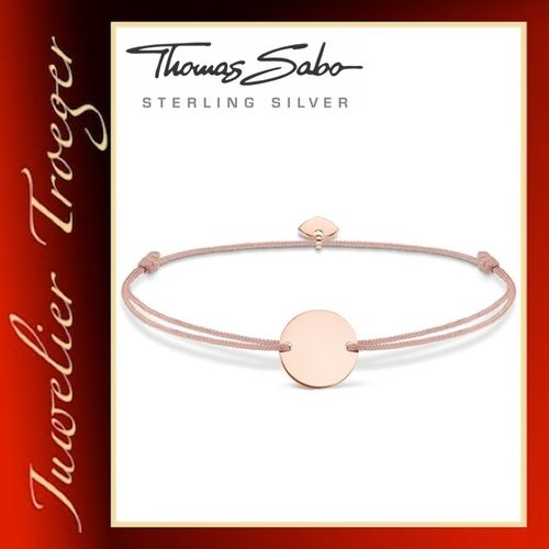 Thomas Sabo Armband Freundschaftsarmband Modell Little Secret Coin LS020