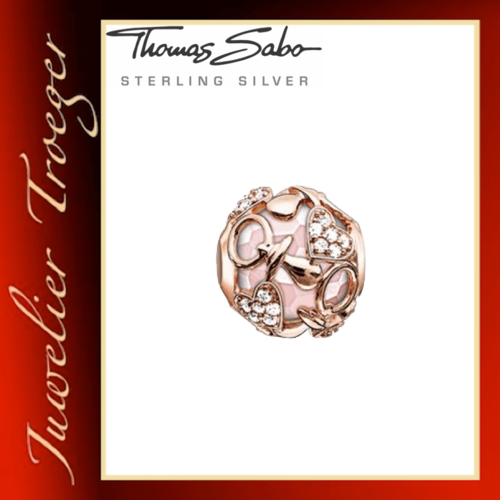 Thomas Sabo Karma Beads - ROSA HAPPY BABY GIRL - 925er Sterlingsilber