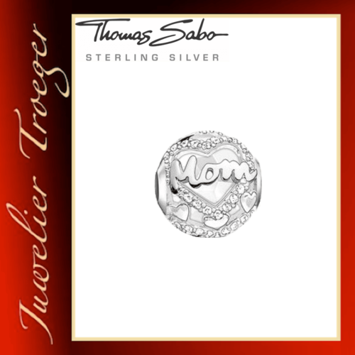 Thomas Sabo Karma Beads - MOM - 925er Sterlingsilber
