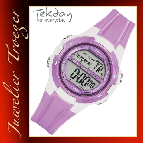 Tekday Uhr Digitale Kinderuhr Jugenduhr Modell 653948 Young-Collection