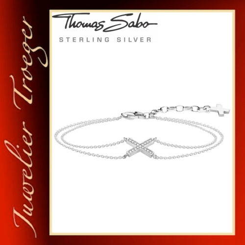 Thomas Sabo Damen-Armband Glam & Soul Modell Classic 925er Sterling Silver