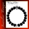 Thomas Sabo Herren-Armband Rebel at heart Power Bracelet Maori Totenkopf A1702