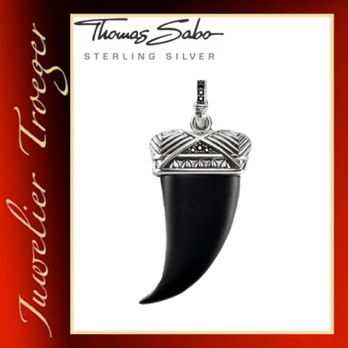 Thomas Sabo Anhänger Rebel at heart - Maori Zahn - Gothic Schmuck PE723