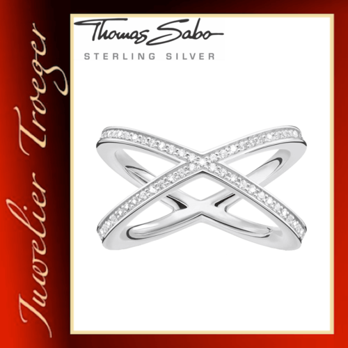 Thomas Sabo Ring Damenring - Glam and Soul - 925er Sterlingsilber TR2138