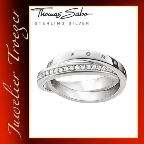 Thomas Sabo Ring Damenring - Together Forever - 925er Sterlingsilber TR2099