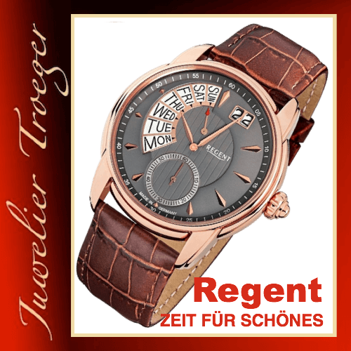 Regent Uhr Herren Armbanduhr Germany Collection Modell GM1437