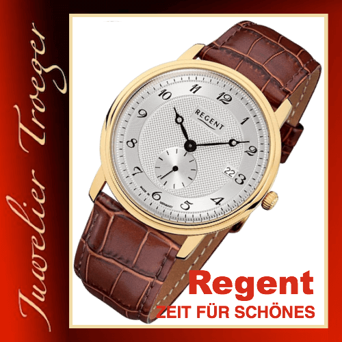 Regent Uhr Herren Armbanduhr Germany Collection Modell GM1442