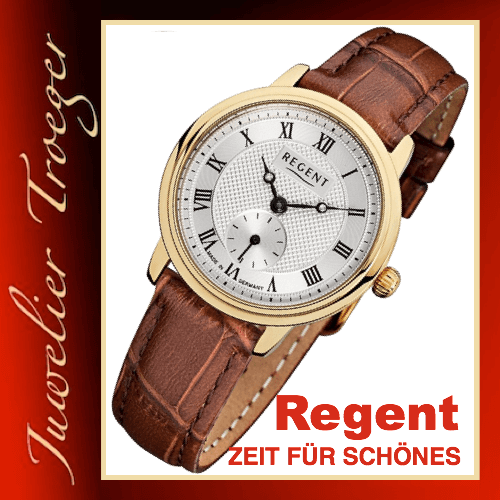 Regent Uhr Damen Armbanduhr Germany Collection Modell GM1445