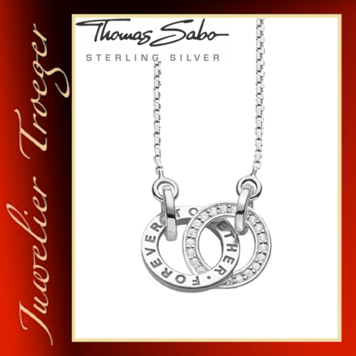 Thomas Sabo Kette Glam & Soul Anhänger - Together Forever - KE1488