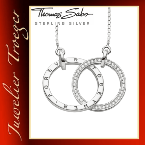 Thomas Sabo Kette Glam & Soul Anhänger - Together Forever - KE1489