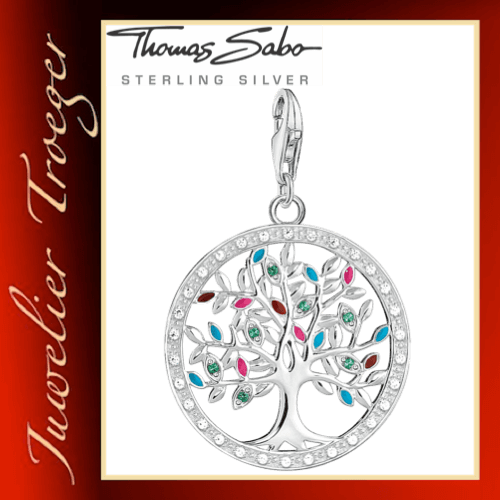 Thomas Sabo Charm-Anhänger TREE OF LOVE 1667-473-7