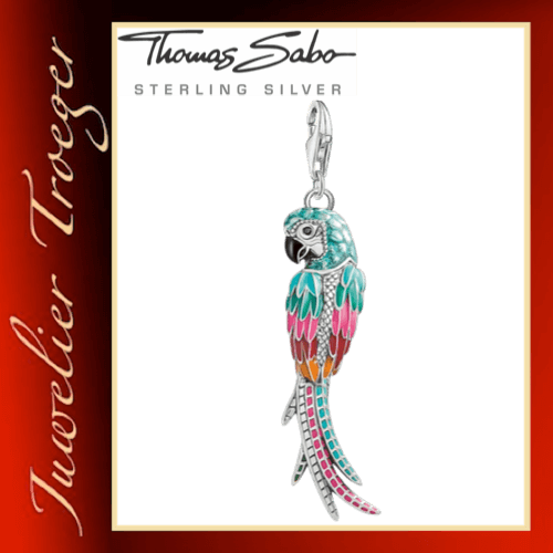Thomas Sabo Charm-Anhänger Papagei Y0002