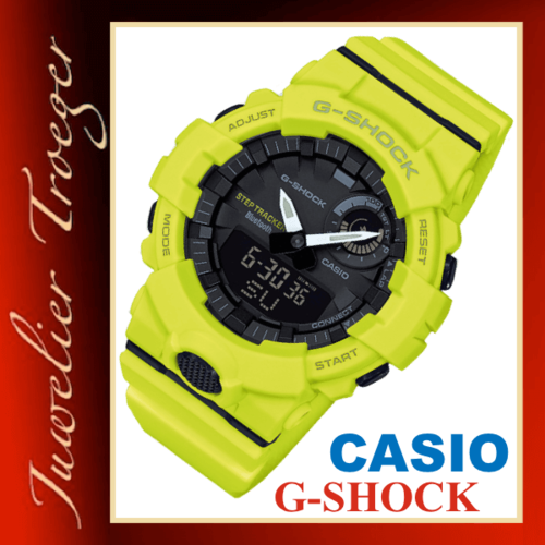 Casio G-SHOCK Analog Digitale Herren Uhr GBA-800-9AER Bluetooth® Smart